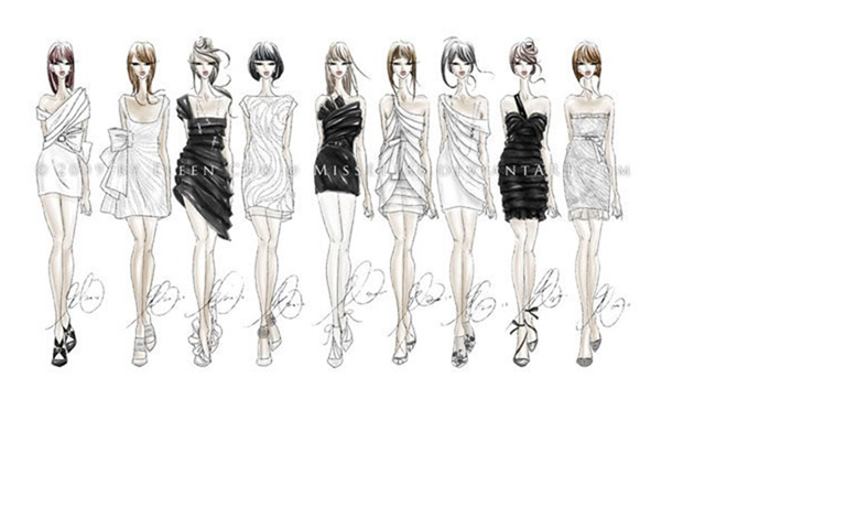 From Fibre To Couture How To Sketch For Fashion Design The Basics