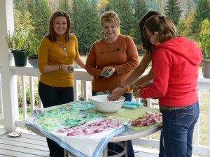 LM - Other -dyeing and soap felting workshop