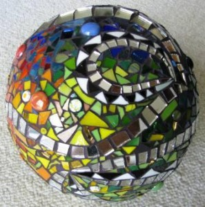 DPAS-A finished garden sphere