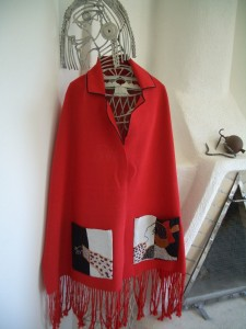 MM-FF Red woven wrap