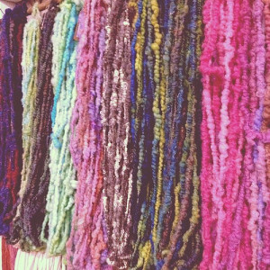 ODC - Yarns hanging