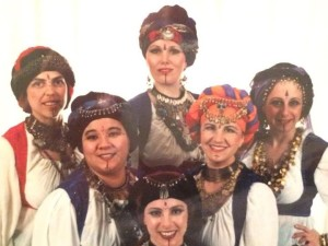 SBK - Self - My middle eastern dance troupe in the late 1990s